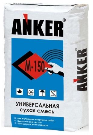 Сухая смесь Анкер (Anker) М-150, 40 кг